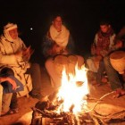 Night Camp fire