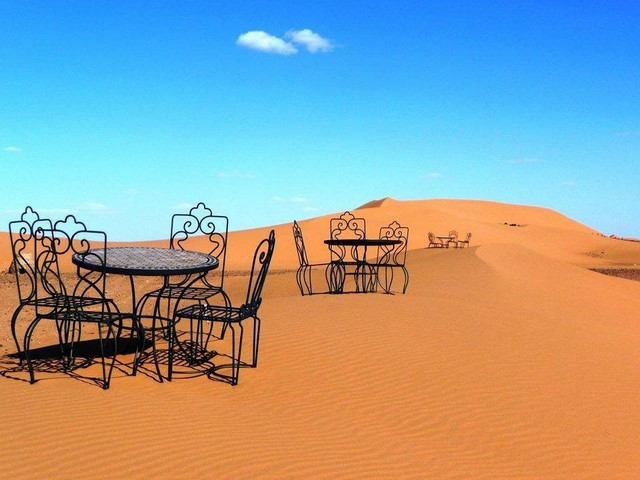 Tour 8 giorni da Tangeri verso Fes deserto di Merzouga e Marrakech